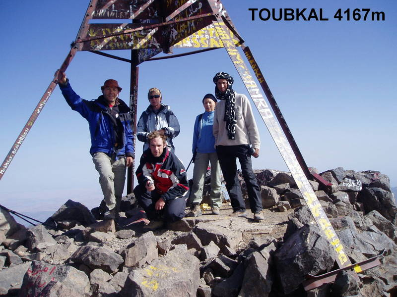 Sommet de Toubkal
